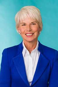 Portrait shot of Gail Kelly